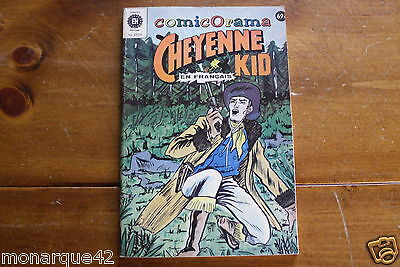 Cheyenne Kid french comic No 1-2-5 -8 Heritage Comicorama 1023 Exc+