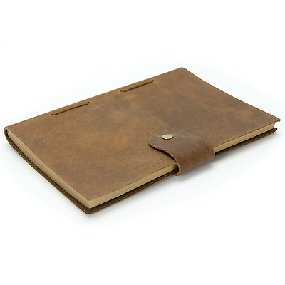 Sunlife Adventures Vintage Leather Handmade Bound Recycled Paper Journal Cover,