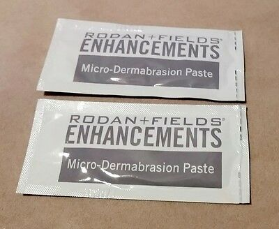 Rodan and Fields Enhancements Micro-dermabrasion Paste 2 Packets