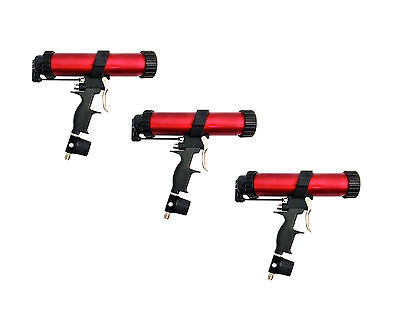 Air Powered Caulking Gun Professional Caulk Gun Sealant Applicator Tool 3 pack