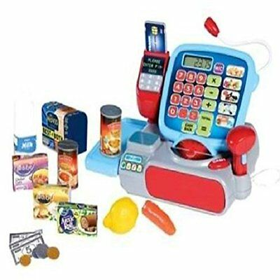 Casdon Supermarket Till Cash Register Toy Kids Childrens Set Gift Game Play NEW