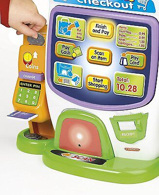 CASDON Little Shopper Self Service Checkout Toy Role Play Kids Children Girl Boy