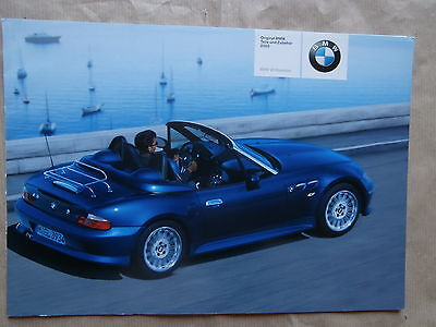 prospekt bmw z3 roadster e36 7 1995 brochure deutsch. Black Bedroom Furniture Sets. Home Design Ideas