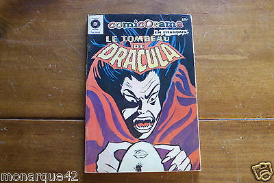 Dracula french comic Bd No 17-18-19-20  Heritage Comicorama 1044 Vg cond.