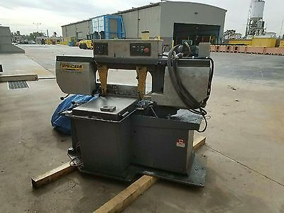 """HYD-MECH S-20 HORIZONTAL BANDSAW, 13"""" X 18"""", MITERING Purchased new 2006"""