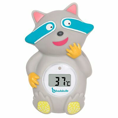 Badabulle Racoon Baby / Child Bath Time Water Temperature Thermometer