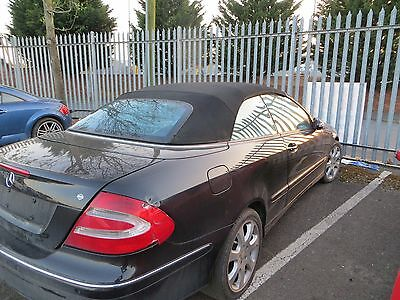 Mercedes CLK W209 Convertible Soft Top Roof BLACK
