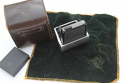 Nikon F Waist Level Finder Complete With Case And Cloth