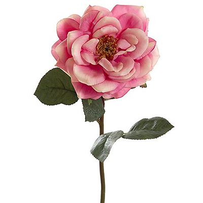 NEW Pink ROSE 30cm stem By Freedom