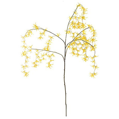 NEW Yellow ORCHID SPIDER 120cm spray By Freedom