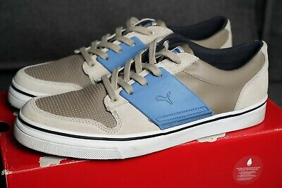 c32b6374cba284 Men s PUMA El Ace 2 Leather Shoes Size 10 (Fossil Taupe Deep Water