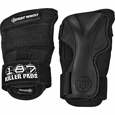 187 Killer Pads Derby Black Skateboard Wrist Guards Free Delivery Australia