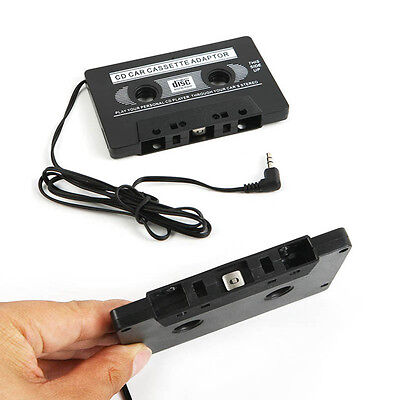 Car Audio Tape CASSETTE ADAPTER 3.5mm JACK AUX Cable for MP3 CD Radio Phone