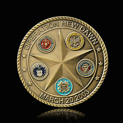 1pc Commemorative Coin Art Collection Gifts For The Iraq War