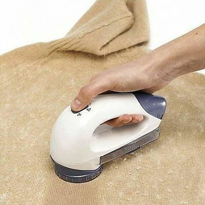 Large Clothes Bobble Fluff Lint Remover Shaver Fuzz Off Fabric Jumper Carpet AGg