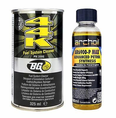 BG 44K Petrol Fuel System Cleaner - 325ml + AR6900-P Max 100