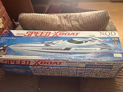Speedboat NQD 1:16 scale  RC Boat Electric  Yellow - Spares & Repairs