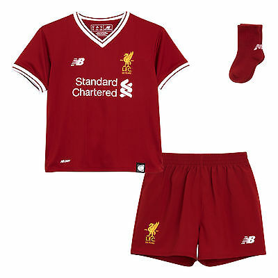 Liverpool F.C. LFC Baby Home Kit 17/18 NWT Official