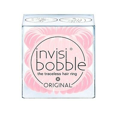 invisibobble ORIGINAL Blush Hour Traceless Hair Ring Band Tie Pack of 3