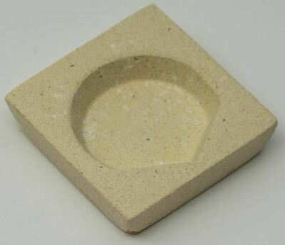 Ceramic Crucible Melting Dish melt metals gold silver copper jewellery