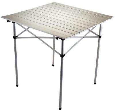 Halfords Roll Up Outdoor Camp Travel Camping Picnic Garden Aluminium Table