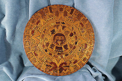Piedra del Sol.Calendario Azteca.Cuauhxicalli. Stone of the Sun.Aztec Calendar.