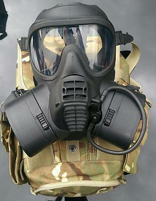 British Army GSR Respirator Sack & Cannisters New