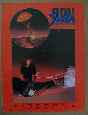 Eagles Don Felder 1983 Ad- Airborne