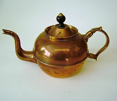 Brass Antique Copper Tea Urn Pot Bronze Georgian Stunning 1800 /1820 Tin Lined