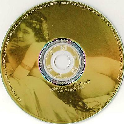 10,000 RISQUE POSTCARD PHOTOGRAPHS 1800's to 1940's on CD-Rom