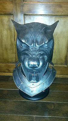 Game of Thrones The Hound Helmet limited edition by Valyrian Steel cosplay LARP