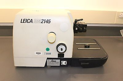 Good Working Leica RM2145 Microtome