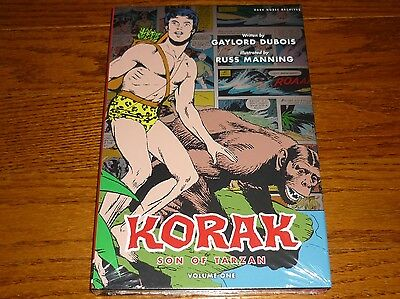 Korak Son of Tarzan Archives Volume 1 SEALED hardcover, Dark Horse, Gold Key