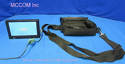 """Ikan V-7000 7"""" Widescreen LCD Monitor w/ power supply, case"""