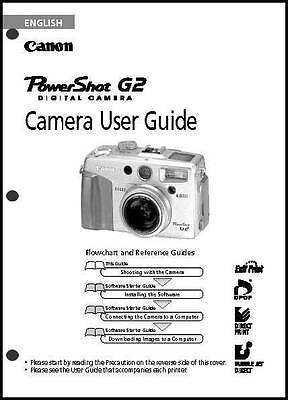 canon powershot g2 digital camera user guide instruction manual rh picclick com Canon T3i Manual Canon EOS Digital Rebel DS6041 Manual