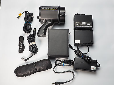 USED READ Translite Impact LiteTrek 4.0 Monolight & Battery Kit 400WS Li-Ion