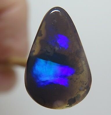 Lightning Ridge Black Opal 5.60Ct Australian Natural Stone