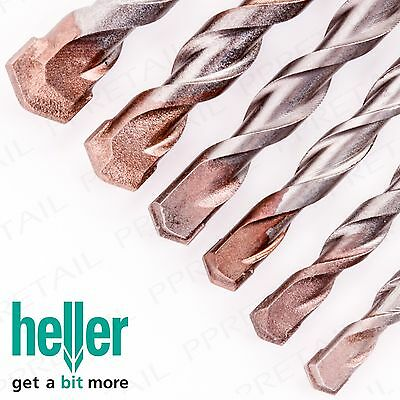 HELLER GERMAN ENGINEERED POWER CONCRETE & MASONRY TWIST DRILL BITS Brick/Wall