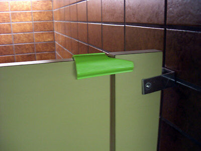 Stall stopper temporary portable bathroom door lock + a pack of travel tissue