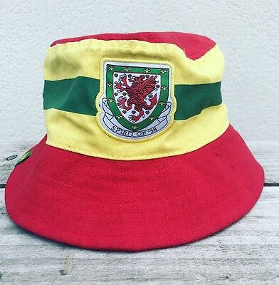 Wales football Spirit of 58 Original Euro 16 bucket hat MEDIUM/LARGE