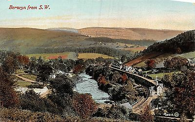 POSTCARD   WALES     BERWYN   from  SW