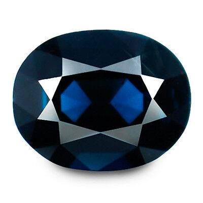 3.00ct EYE CLEAN NATURAL EARTH MINED RARE AAA INTENSE NEON BLUE SPINEL VDO