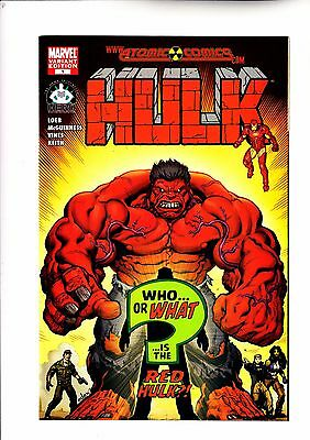 Hulk 1 Atomic Comics variant 1st appearance of Red Hulk