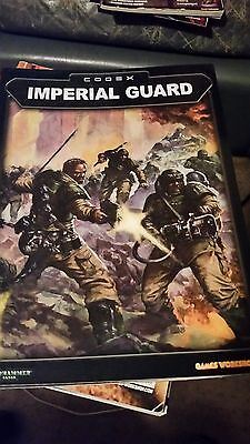 Warhammer 40k imperial guard codex
