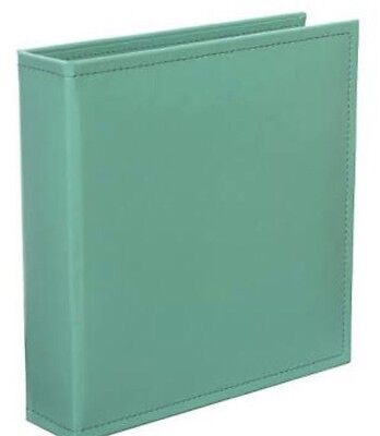 Brand New Project Life Faux Leather Green D-Ring Album 12X12 Inches