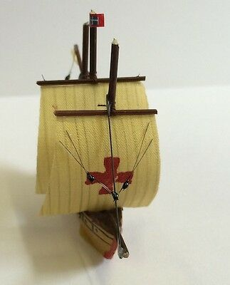 Model Sailing Ship 10, Dolls House Miniature, House Accessory, Nautical