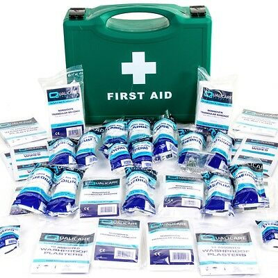 UK HSE APPROVED FIRST AID KIT HARD BOX 1-20 Person/Staff Work Warehouse/Office