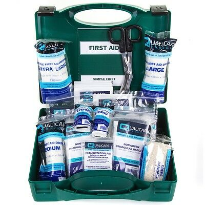 50Pc HSA Approved TRAVEL FIRST AID KIT Work/Caravan/Car Emergency Hard Case