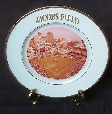 1994 Jacobs Field Inaugural Season Commemorative Plate Cleveland Indians MINT!