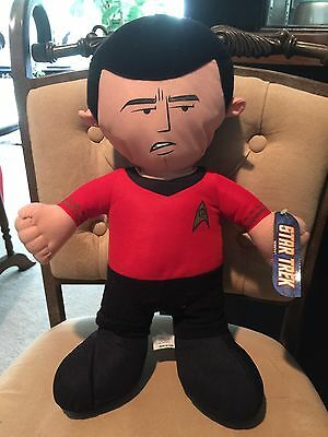 Star Trek SCOTTY Plush Stuffed 14'' With Tags  - Toy Factory